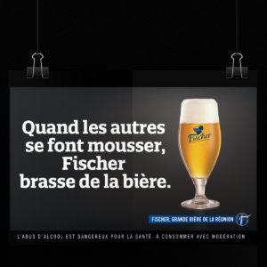 Campagne Rétro Fischer Réunion_L'Abus d'alcool est dangereux pour la santé, à consommer avec modération.