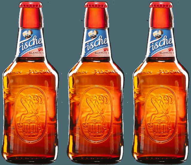 Bière Fischer Blanche Rosée